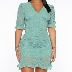 Growing On Me Ruched Dress